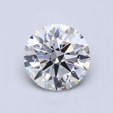 1,01-Carat Round Diamond Ideal G VS2