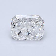 0.96-Carat Radiant Diamond Very Good F VVS2