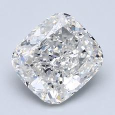 推荐宝石 1:2.01 克拉垫形钻石