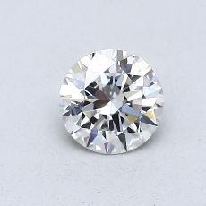 0.50-Carat Round Diamond Ideal G VS1