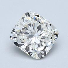 2.00-Carat Cushion Diamond Very Good I VVS2