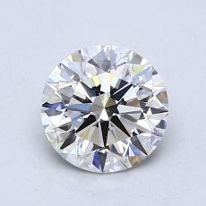 1.04-Carat Round Diamond Ideal H VS2