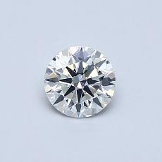 推薦鑽石 #4: 0.42 克拉圓形切割鑽石