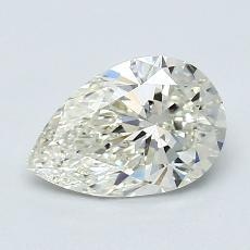 1.00 Carat 梨形 Diamond 非常好 K VS2