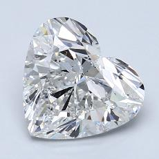 Recommended Stone #1: 2.06-Carat Heart Cut Diamond