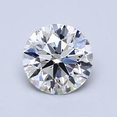 1.02 Carat Redondo Diamond Ideal G IF