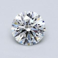 1.01-Carat Round Diamond Ideal G VVS2