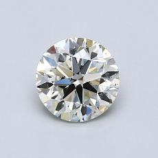 0.80 Carat 圓形 Diamond 非常好 K SI1