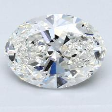1.51-Carat Oval Diamond Very Good G VS1