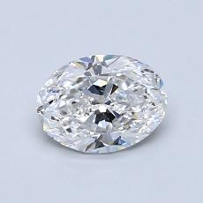 Recommended Stone #1: 0,80-Carat Oval Cut Diamond
