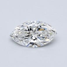 Recommended Stone #2: 0,50-Carat Marquise Cut Diamond
