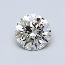 0.80 Carat 圓形 Diamond 理想 J VS2