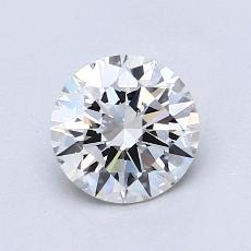 1.00 Carat 圆形 Diamond 理想 G VS1