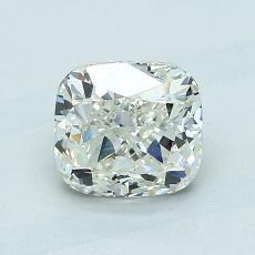 1,21 Carat Coussin Diamond Bonne K SI2