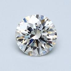 1.00 Carat 圓形 Diamond 理想 J VVS2