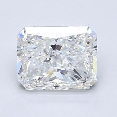 1.50-Carat Radiant Diamond Very Good G SI1