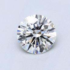 0.82-Carat Round Diamond Ideal G VS2