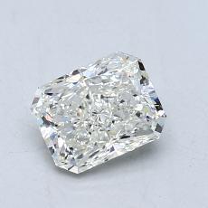 1.01-Carat Radiant Diamond Very Good J SI2