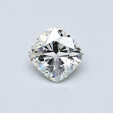 オススメの石No.3:0.53カラットのクッションカットダイヤモンド