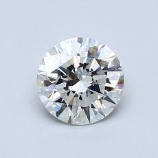0.76 Carat 圓形 Diamond 理想 G VS2
