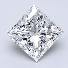 Recommended Stone #2: 1.63-Carat Princess Cut Diamond
