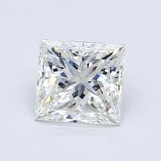 1.01 Carat 公主方形 Diamond 非常好 H VVS1