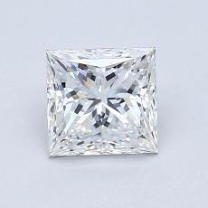 Recommended Stone #1: 1.03-Carat Princess Cut Diamond