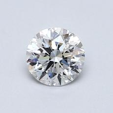 0,71-Carat Round Diamond Ideal D SI1