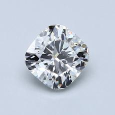Recommended Stone #1: 0.86-Carat Cushion Cut Diamond