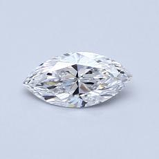 推薦鑽石 #2: 0.40  克拉欖尖形切割鑽石