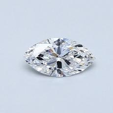 Recommended Stone #1: 0.37-Carat Marquise Cut Diamond