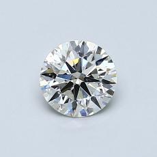 0.57-Carat Round Diamond Ideal K SI2