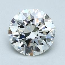 Recommended Stone #2: 1.50-Carat Round Cut