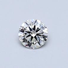 0.40 Carat 圆形 Diamond 理想 G VVS2