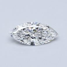 Recommended Stone #2: 0.40-Carat Marquise Cut Diamond