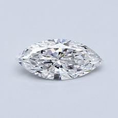 0.40-Carat Marquise Diamond Very Good D IF