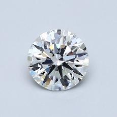 Pierre recommandée n°1: Diamant taille ronde 0,64 carat