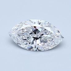 0.70-Carat Marquise Diamond Very Good D SI2