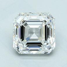 Recommended Stone #3: 1.70-Carat Asscher Cut Diamond