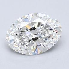 1.52-Carat Oval Diamond Very Good G VS1