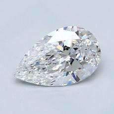 Pierre recommandée n°4: Diamant taille poire 1,00carats