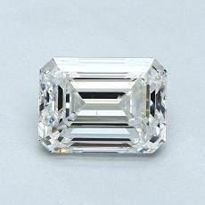 1.01-Carat Emerald Diamond Very Good H VS1