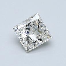 0.80-Carat Princess Diamond Very Good I VVS2