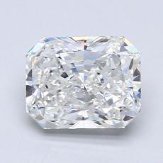 Pierre recommandée n°2: Diamant taille radiant 1,63 carats