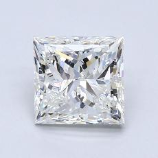 Recommended Stone #3: 1,79-Carat Princess Cut Diamond