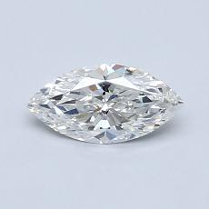 Recommended Stone #4: 0,51-Carat Marquise Cut Diamond