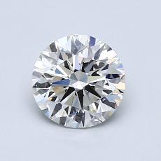 1.00 Carat 圓形 Diamond 理想 H VS1