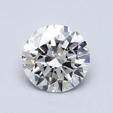 1.05 Carat 圆形 Diamond 理想 E VS2