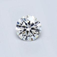 推荐宝石 2:0.41克拉圆形切割钻石