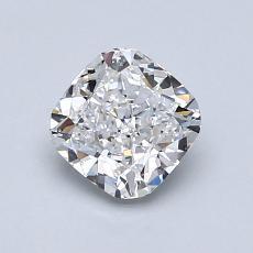 1.00-Carat Cushion Diamond Very Good E VS1